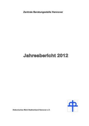 ZBS Jahresbericht 2012 - Diakonisches Werk Hannover