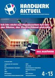 Handwerk 4-2013_Handwerk 6/2011 - Kreishandwerkerschaft ...