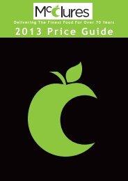 Price List - W. McClure Ltd