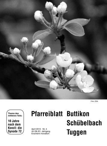 April 2013 - Pfarrei-Buttikon.ch