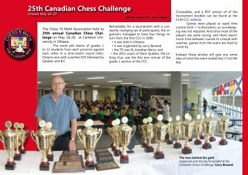 CCN - webteaser - CCC 2013.pdf - The Chess Federation of Canada