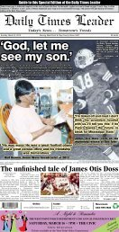 The unfinished tale of James Otis Doss - Daily Times Leader