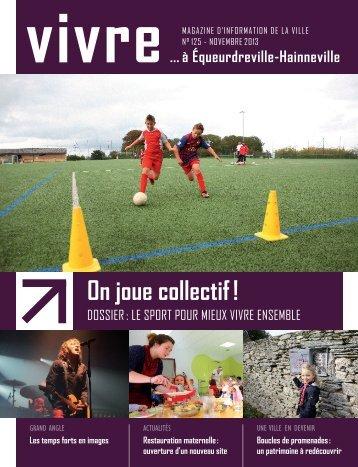 Magazine de novembre 2013 - Ville d'Equeurdreville-Hainneville
