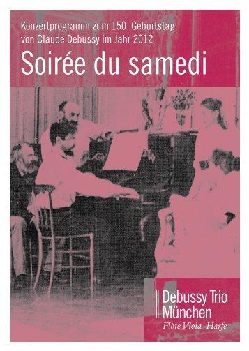 Info-Flyer - Debussy Trio München