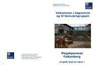 pjece - Plejehjemmet Falkenberg