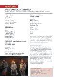 DU 26 JANVIER AU 12 FÉVRIER 2011 - revue-spectacles.com - Page 2