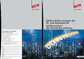 DEHN schützt Anlagen der Öl- und Gasindustrie. - DEHN + SÖHNE ...