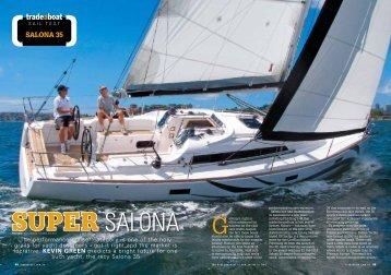 SALONA 35 - Salona Yachts