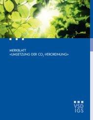 Merkblatt CO2-Gesetz - VSD