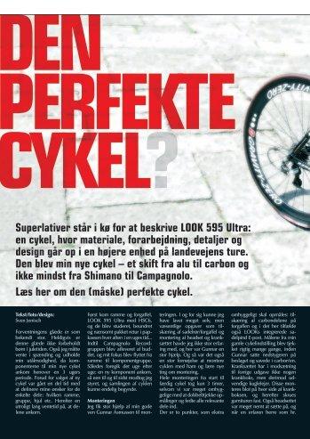 Superlativer står i kø for at beskrive LOOK 595 Ultra: en cykel, hvor ...