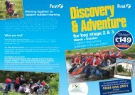 Outdoor Adventure at Castle Head - First Education & School Travel