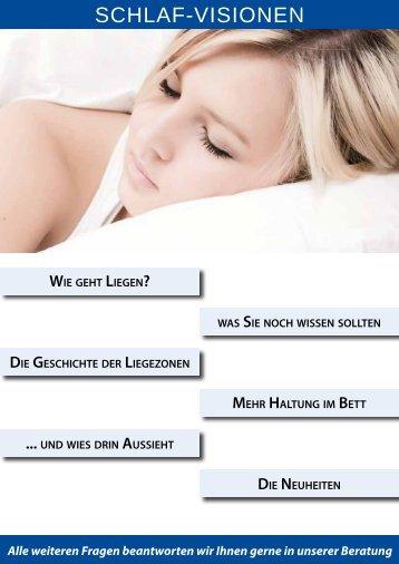 schlaf-visionen - Betten Schmidt