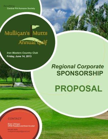 MMAG-Regional-Sponsorship-Brochu... - Central PA Humane Society