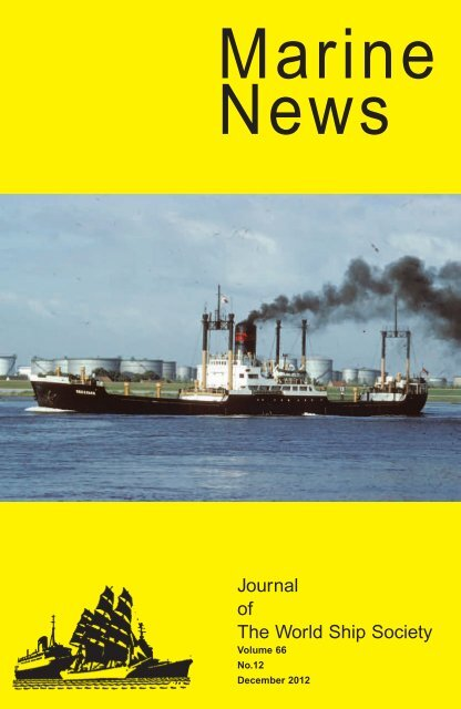 Marine News World Ship Society