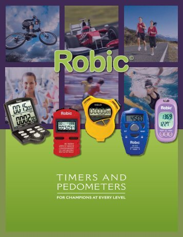 Timers and PedomeTers - Robic