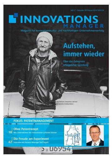 Innovationsmanager - Dr. Wieselhuber & Partner GmbH ...