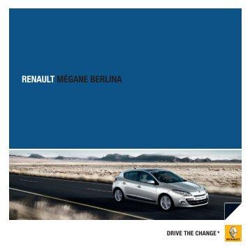 RENAULT MÉGANE BERLINA - renault portugal
