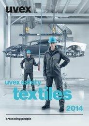 uvex safety textiles Katalog (PDF)