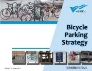 Bicycle Parking Strategy | August 2011 - Victoria