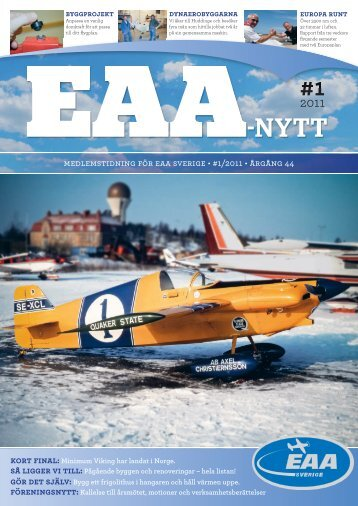 Nr 1 2011 - EAA chapter 222