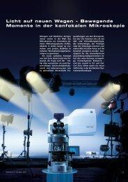 Bewegende Momente in der konfokalen Mikroskopie - Carl Zeiss