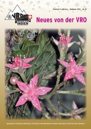 Neues von der VRO - vro.ch