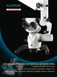 AM-4000 PLUS SERIES OF DENTAL MICROSCOPES - Profident