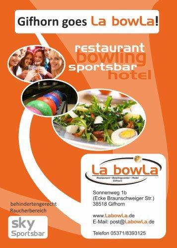 bowling - La bowLa Gifhorn