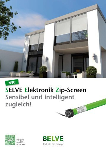 Zip-Screen-Antrieb SEZ (pdf, 310 KB) - Selve