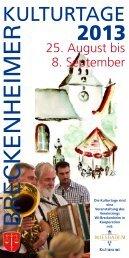 Kulturtage Breckenheim (PDF | 2,23 MB) - Landeshauptstadt ...