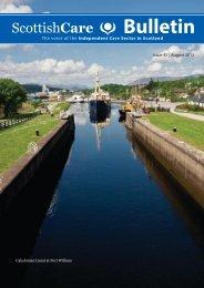 August Bulletin - Scottish Care