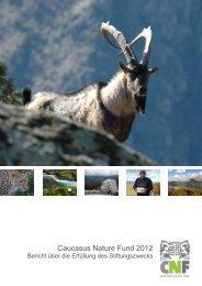 Caucasus Nature Fund 2012