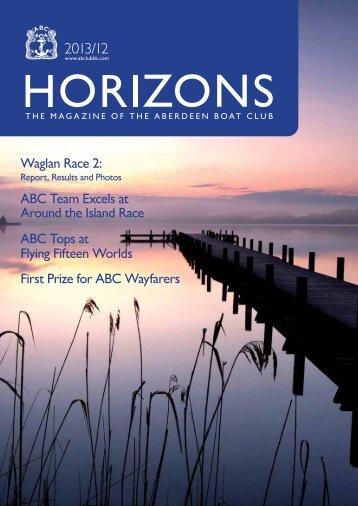 Dec 2013 Issue - the Aberdeen Boat Club
