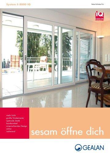 sesam öffne dich - Schmitz-Fenster GmbH