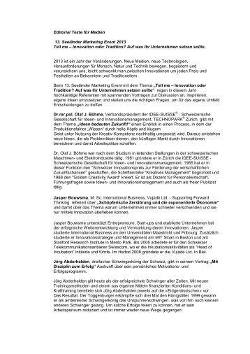 Editorial - SMC Biel-Seeland