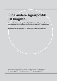 Plattform-Verbände 2013-08 - Umsetzung EU-Agrarreform in DE.indd