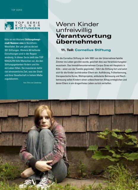 Wenn Kinder unfreiwillig Verantwortung - Cornelius-stiftung.de