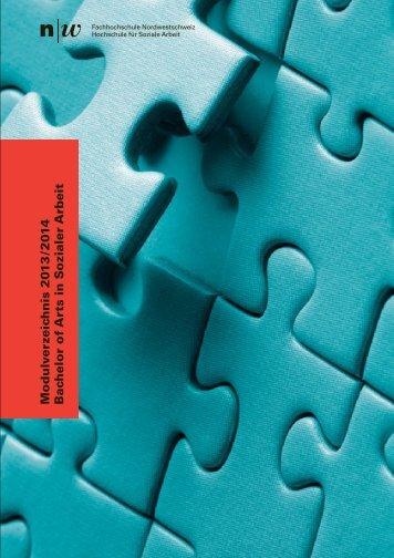 Modulverzeichnis 2013/2014 - Studierendenportal