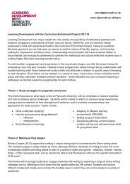 Learning Development and the CEP.pdf - Plymouth