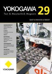 Test & Messtechnik Magazin 29 - Yokogawa