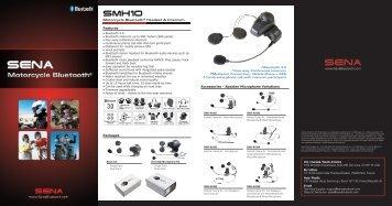 Motorcycle Bluetooth® Headset & Intercom Features ... - Starcom