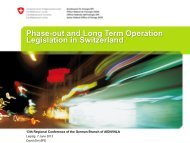 D.Erni, Phase-out and long-term operation legislation in Switzerland