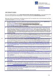 Informationsblatt über die Zulassungsverfahren an der OHM ...