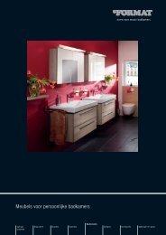 Meubels voor persoonlijke badkamers - FORMAT