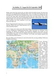 Seychellen, 21. August bis 20. September 2009 - Wwrundfunk.de