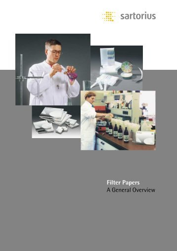 Filter Papers A General Overview - CHEMICAL CENTER