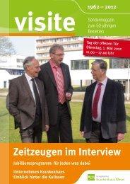 Visite 2012 - Evangelisches Krankenhaus Wesel