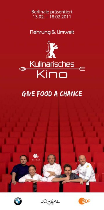 Give food a Chance - Fruehsammers-restaurant.com