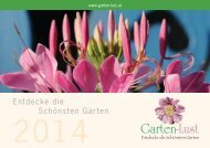 Garten-Lust Folder 2014