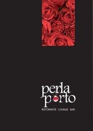Speisekarte - Perla Porto
